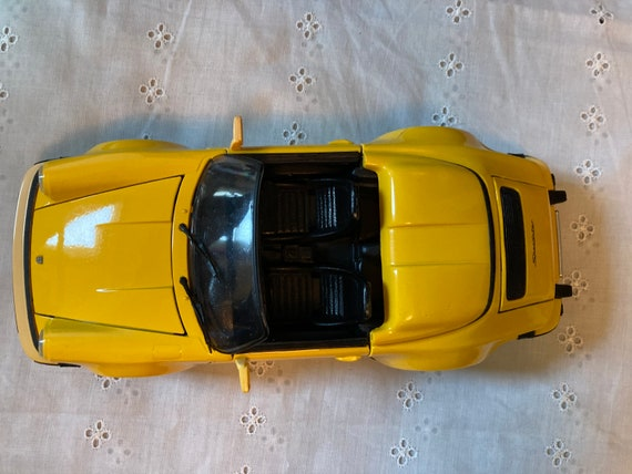 Porsche 930 Speedster 1/18 KK Scale 911 Yellow 1989 Speedster diecast model cars