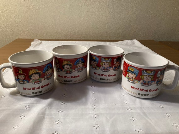 Rare Vintage 1993 Campbell's Soup Mugs