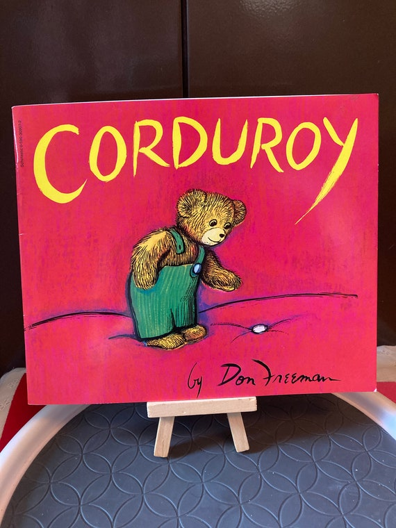 1968 Vintage Corduroy Paperback Book - Classic Story of a Bear Looking for a New Home