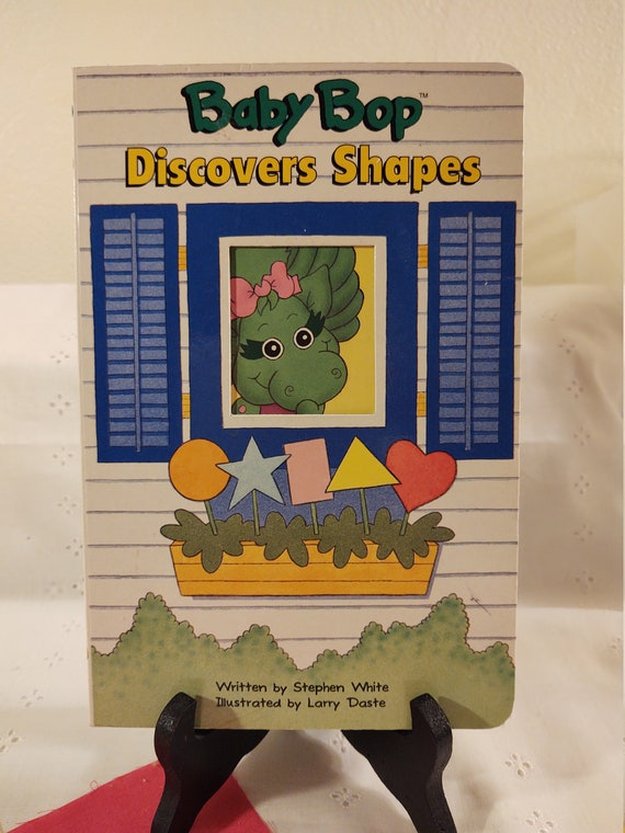 1993 Baby Bop Discovers Shapes by Stephen White