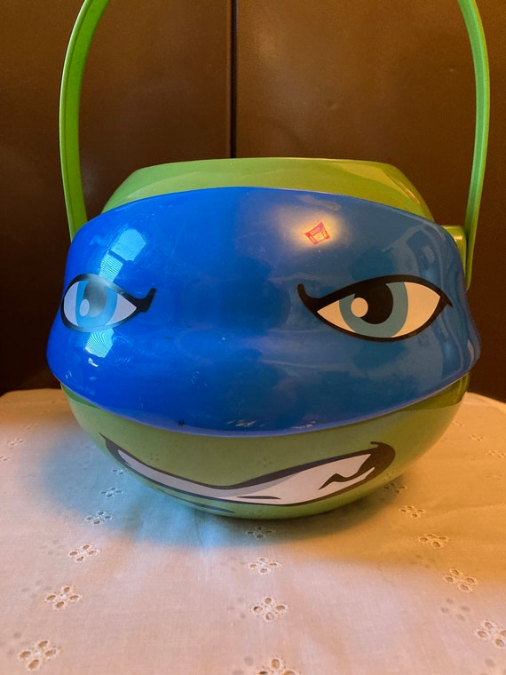 Teenage Mutant Ninja Turtle Halloween Candy Pail - 2017 Candy Bucket