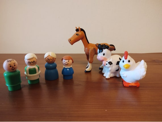 Fisher Price Little People Farm Animals - Little People Figures