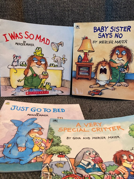 Classic 1980's Mercer Mayer Children's Books