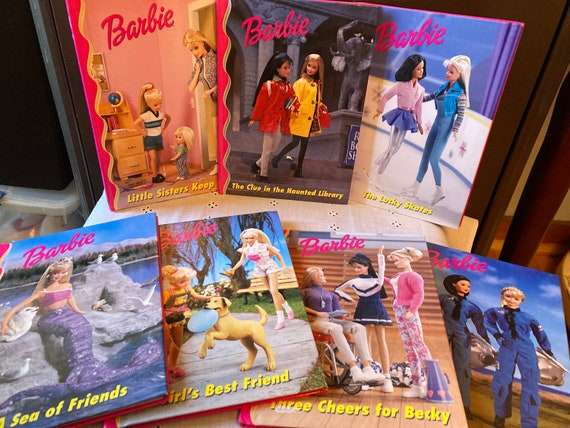 1998 Mattel Barbie Books - Published by Grolier Books