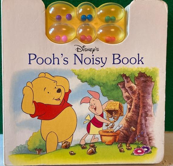 Disney's Pooh's Noisy Book - Pooh's Noisy Book Hardcover Disney Press Vintage 1999