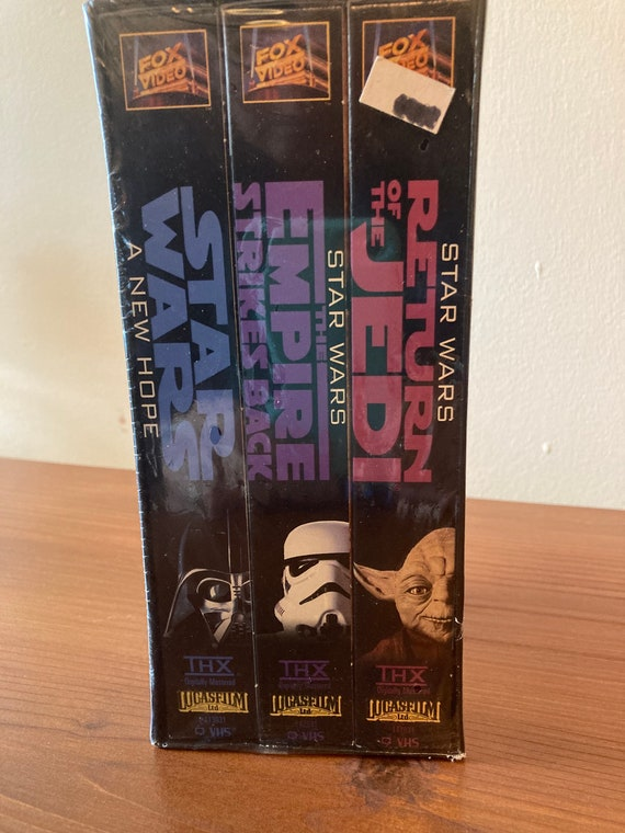 Never Opened - Sealed in Original Plastic - Three VHS -Star Wars Trilogy, Digitally Mastered, Box Set In Slipcase