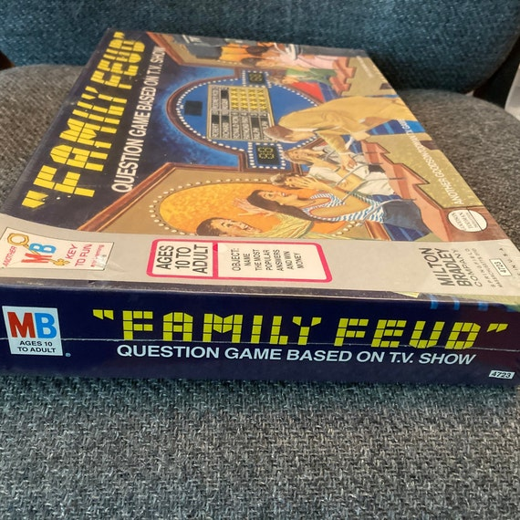 1977 Family Feud Board Game -- Has Never Been Opened -- Game Still Wrapped In Original Plastic