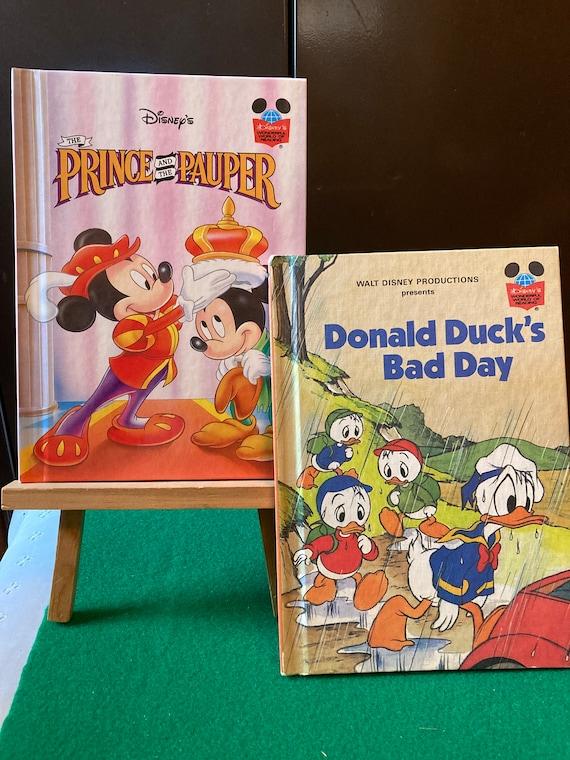 Disney's Wonderful World of Reading Hardback Book  Donald Duck's Bad Day  Disney's Wonderful World of Reading series FREE SHIPPING