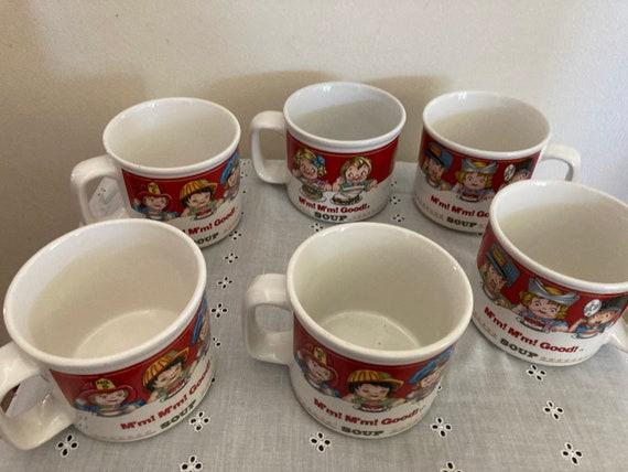 Rare Vintage 1993 Campbell's Soup Mugs