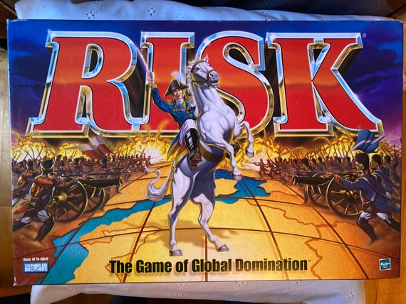 1999 Risk Board Game - The Game of Global domination - RISK Board Game 1999 Global Domination Vintage Parker Bros