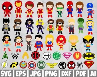 Marvel svg | Etsy