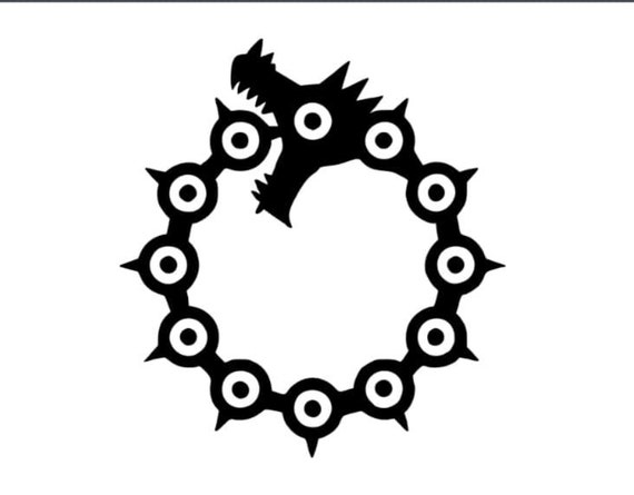 The Seven Deadly Sins Meliodas Dragon Sin Vinyl Decal Sticker