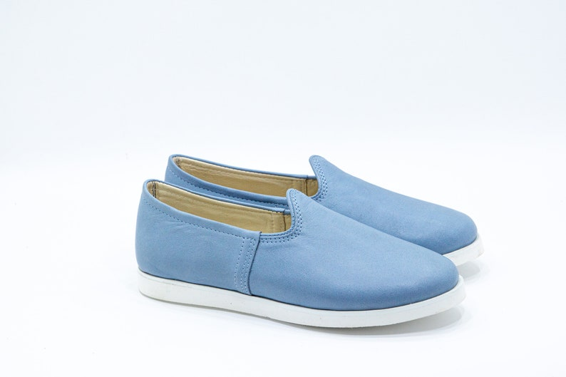 Colorful Slip-On Ultra lightweight /%100 Turquoise Lining Leather /& Handmade Eva Sole Men Turkish Shoes Natural