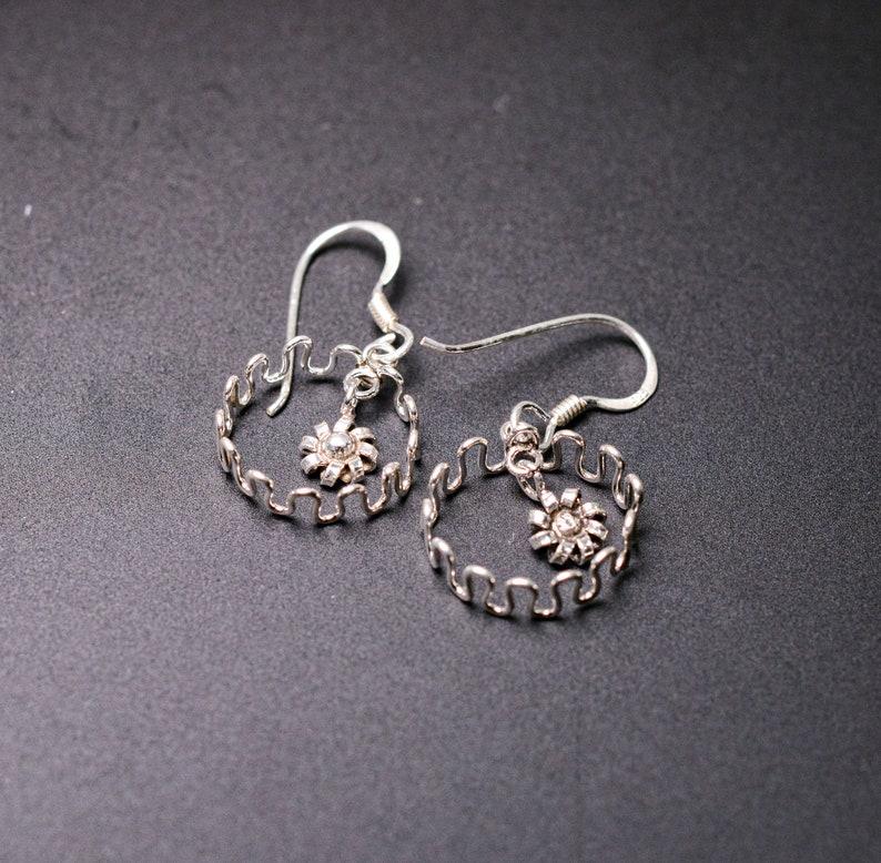 Thai 925 silver womens earrings