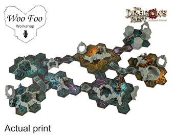 Token Sized basic set, Blackstone Fortress Compatible 3D printed terrain