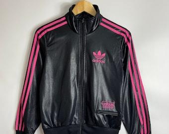 Adidas Chile 62 mit Kapuze Damen Pullover Track Jacke Größe