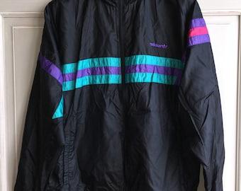 Adidas nylon jacket   Etsy