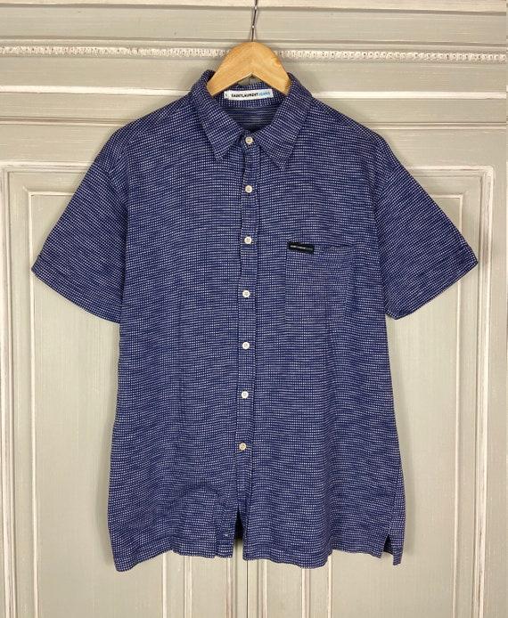 Vintage Saint Laurent Jeans Button Down Shirt with