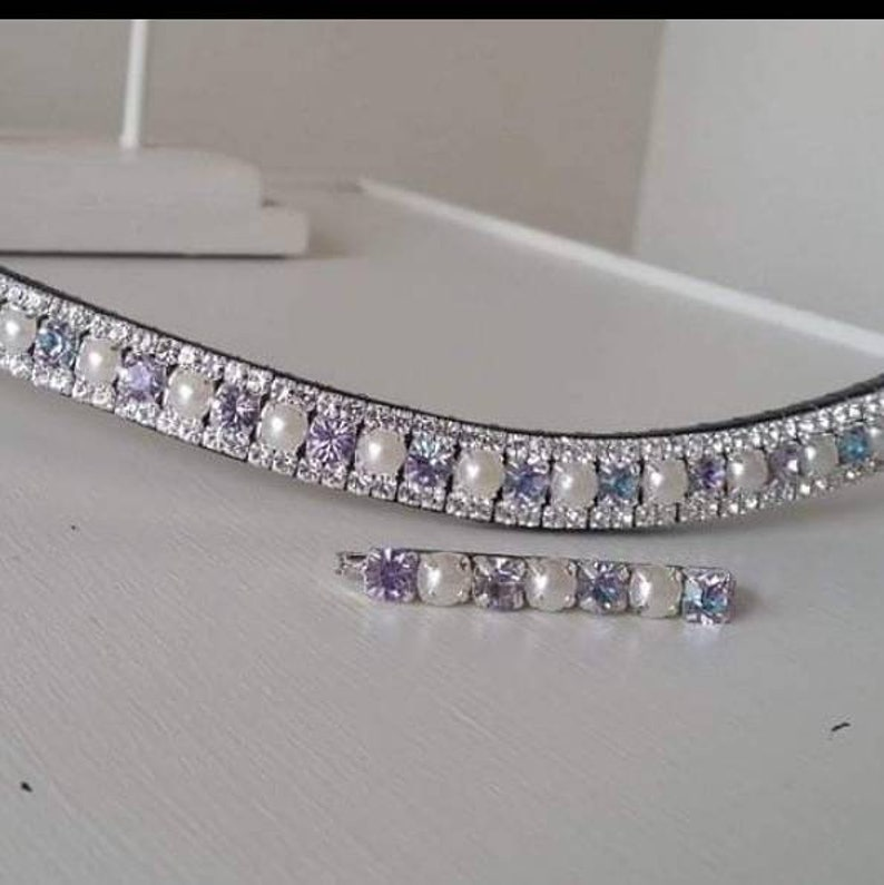 Unicorn Rainbow Preciosa Crystal Browband