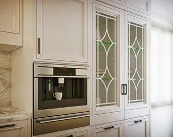Cabinet Door Insert | Etsy