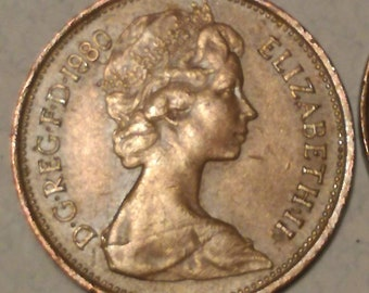 1980 british coin | Etsy