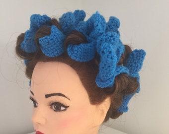 Crochet Sleep in Hair Rollers