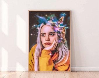 Billie Eilish Art Etsy