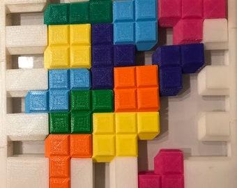 Sliding puzzle | Etsy