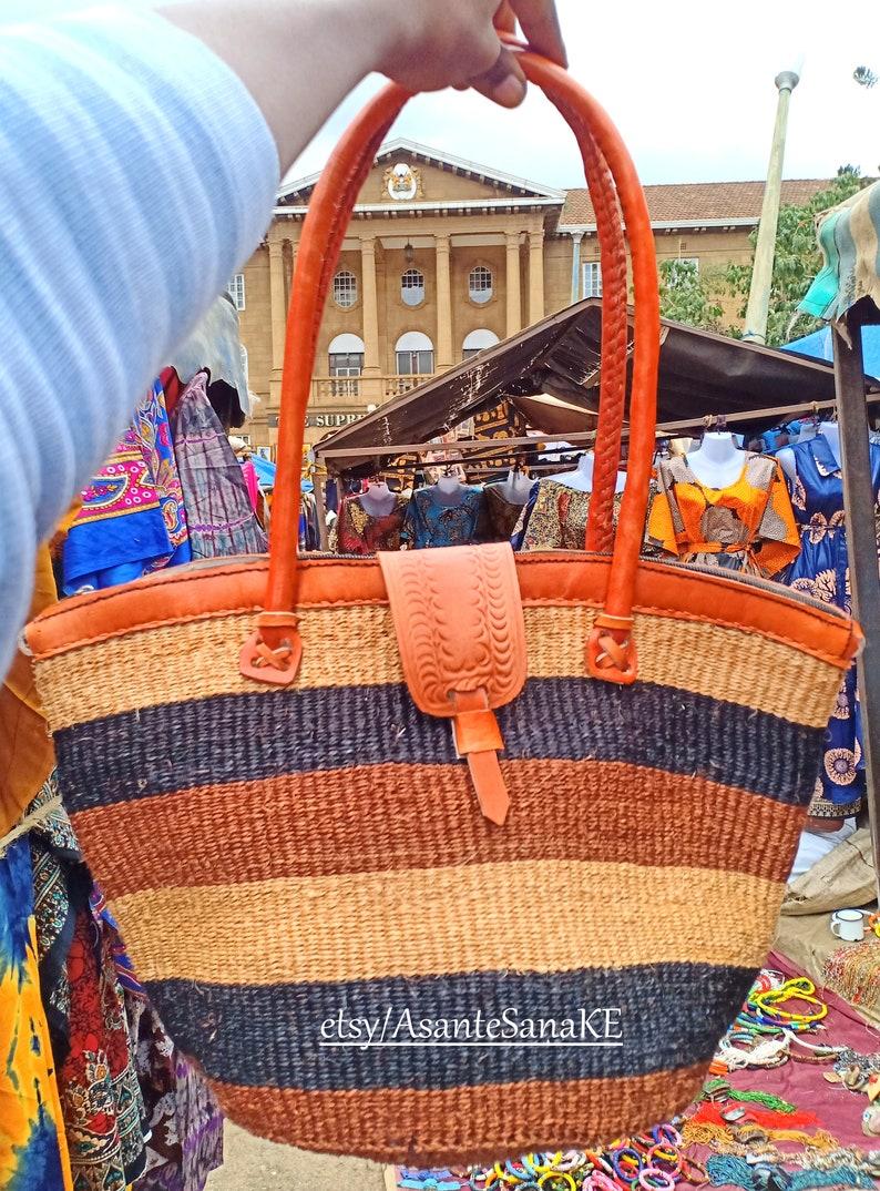 Woven Purse Handwoven Bag Straw Bag Woven Leather Bag Woven Tote Bag Rattan Bag Raffia Bag Straw Woven Hippie Bag ON SALE Woven Bag