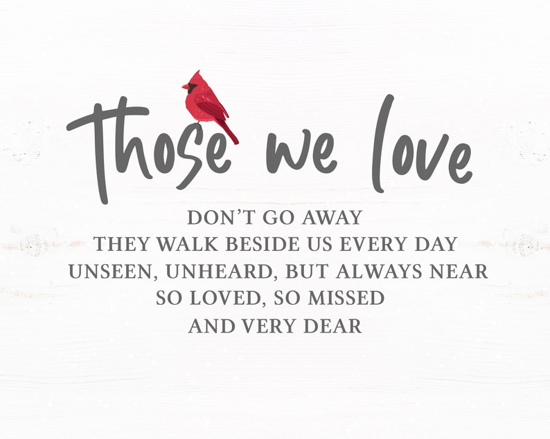 Download Those We Love Don't Go Away SVG Memory Sympathy Sign SVG ...
