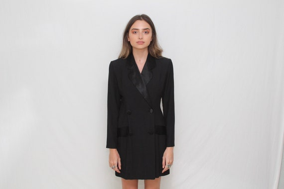 Suited romper dress