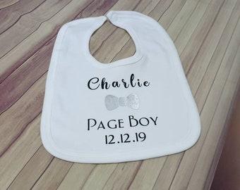 "Funny Baby Bib /""Tuxedo/"" Tux Christening Wedding Christmas Smart Clothes"