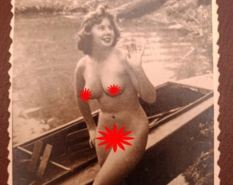 Risque French Postcards Slave Girls
