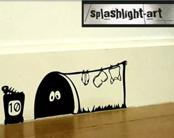Skirting board decal | Etsy