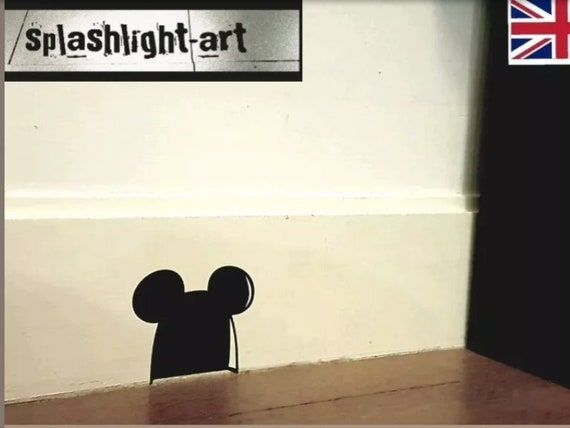 Mickey Mouse Disney 10 in a pack Vinyl Decal Sticker Logo Ears Shape
