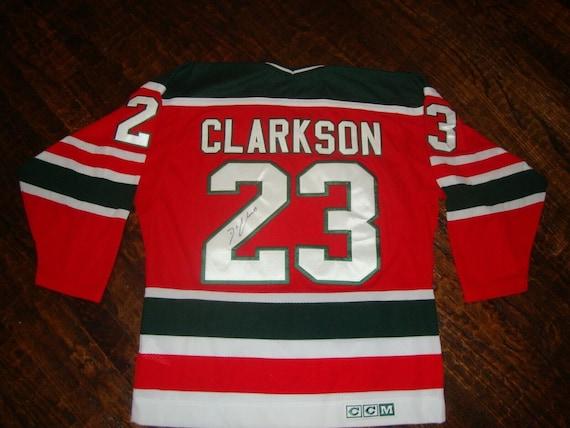 New Jersey Devils David Clarkson CCM Vintage Hocke