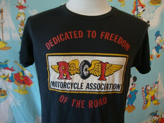 Vintage 80's Abate Of Rhode Island Motorcycle Asso