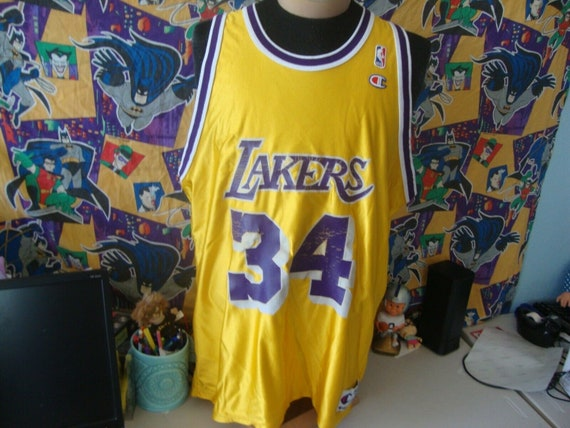 Vintage 90's Los Angeles Lakers Shaquille O'Neal N