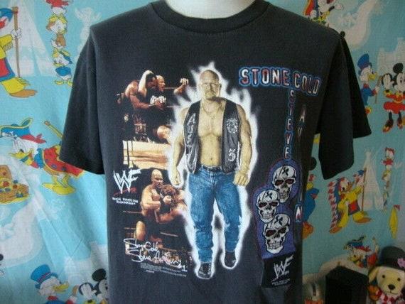 Vintage 90's Stone Cold Steve Austin WWF Talking … - image 1