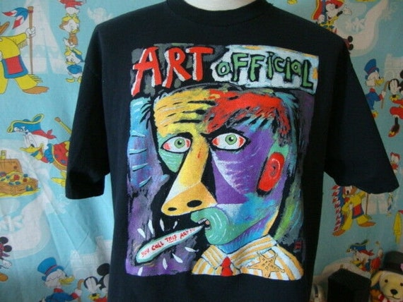 Vintage 90's Fred Babb Art Official T Shirt XL