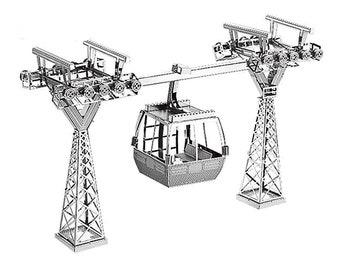 3D Metal Model Kit Cable car Assemble Jigsaw Puzzle