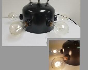 Four Faucet Handle Table Lamp
