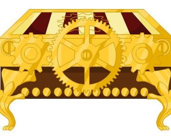 Mystery Box Lamp and Clock