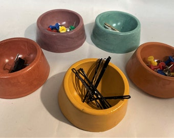 Magnetic paper clip holder / Custom Thumb tack storage/ Needles and pin organizer / Nails and screws storage / Hair clip holder