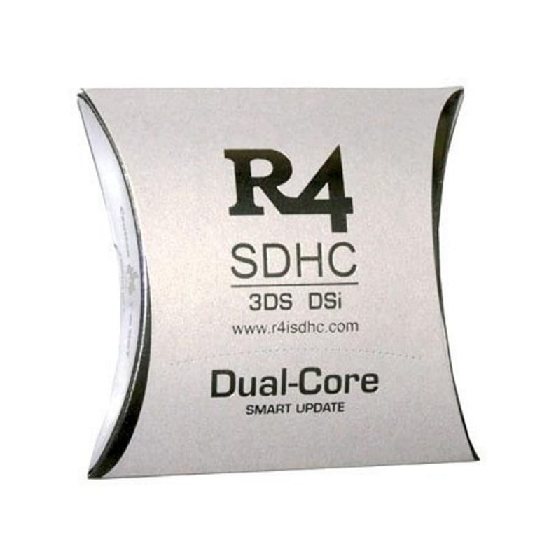 2019 R4i Dual-Core RTS White Games Cartridge - R4 Card Nintendo DS 3DS 2DS  DSi for HOMEBREW Games