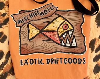 Mischief Motu Logo Tote Bag