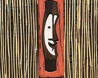 Tiki Bob (small) - Wood Carving