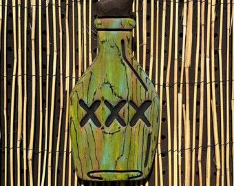 Rum Tiki Wall Art (Sm) - Wood Carving