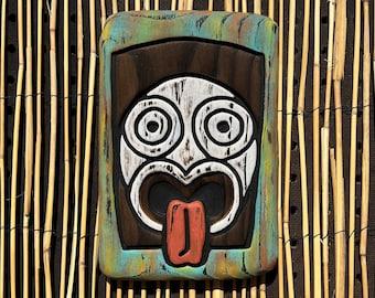 Trader Mort Wall Art - Wood Carving