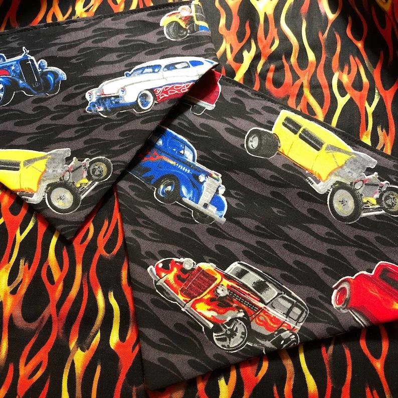 Pet bandana-Hot Rods /& Flames